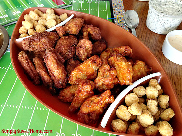 Game Time with Tyson Deli Wings