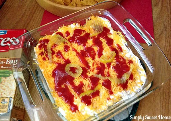 7 Layer Mexican Casserole