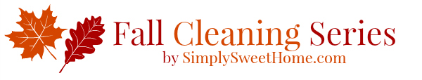 Fall Cleaning Series Banner