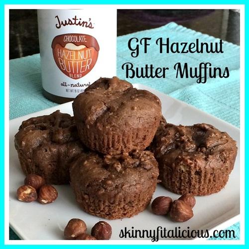 GF Hazelnut Butter Muffins
