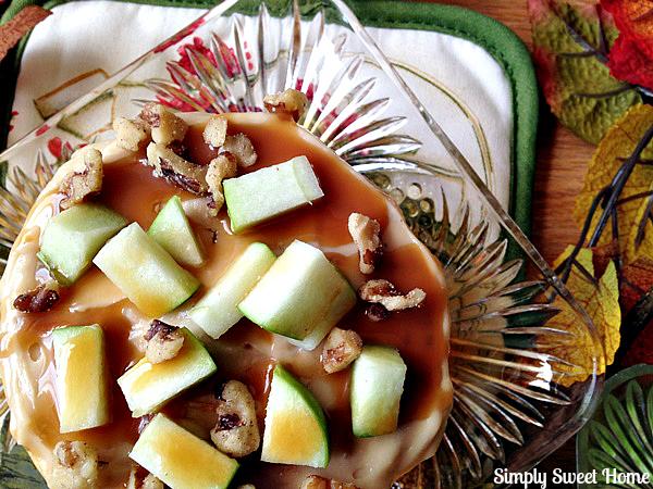 Caramel Apple Waffles
