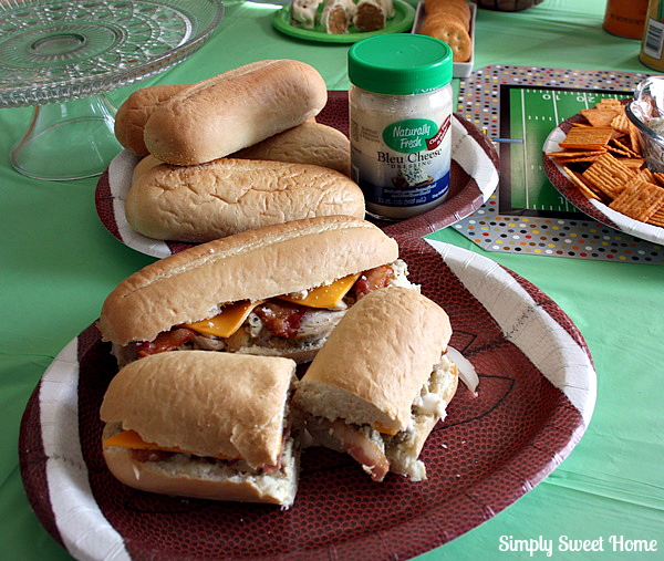 Chicken Bacon Ranch Subs