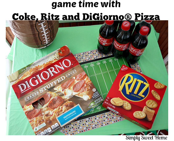 Game Time with Coke Ritz and DiGiorno