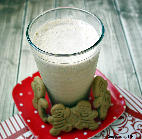 Gingerbread Cookie Milkshake