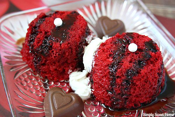Red Velvet Angel Food Cake