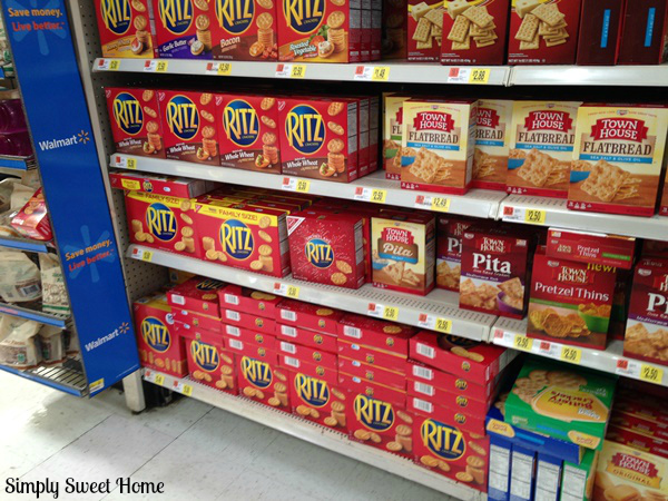 Ritz Crackers at Walmart