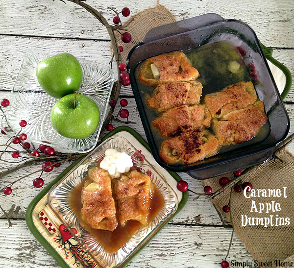 Caramel Apple Dumplins
