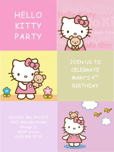 Free Party Invitation Printables