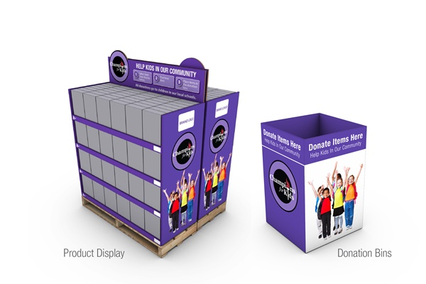 CFK Pallet and donation bin 2015