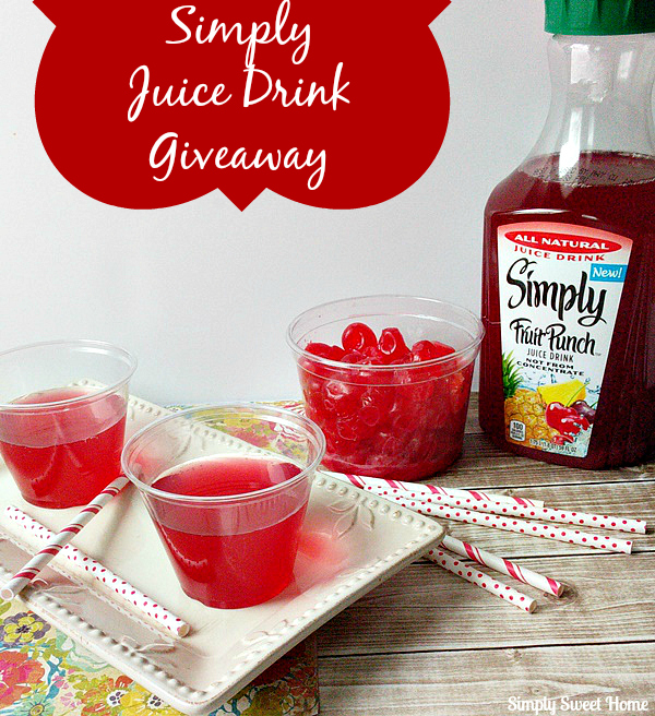 Simply Juice Drink Giveaway