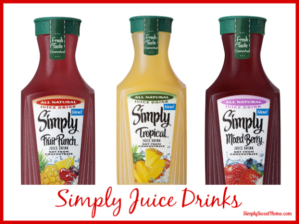 Simply Juice Drinks