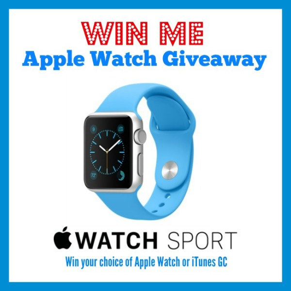 Apple Watch or iTunes Card Giveaway - Simply Sweet Home