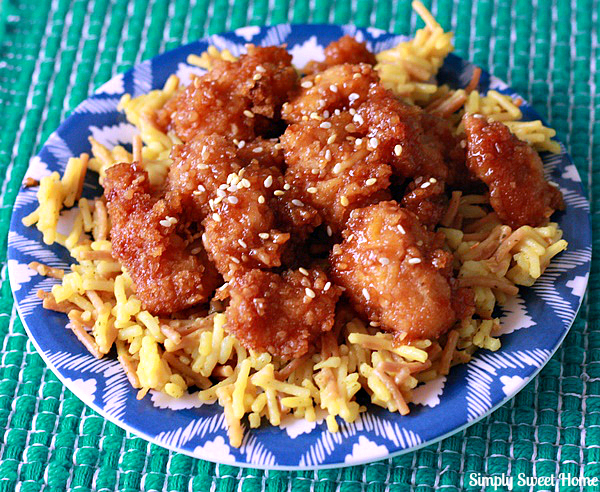Chinese Style Honey Garlic Chicken