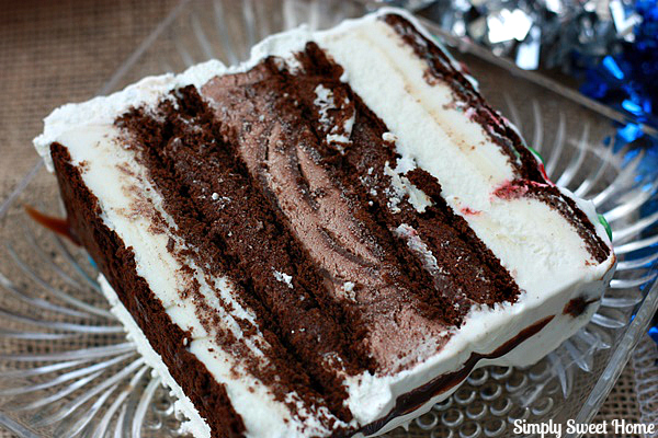 Ice Cream Cake Slice