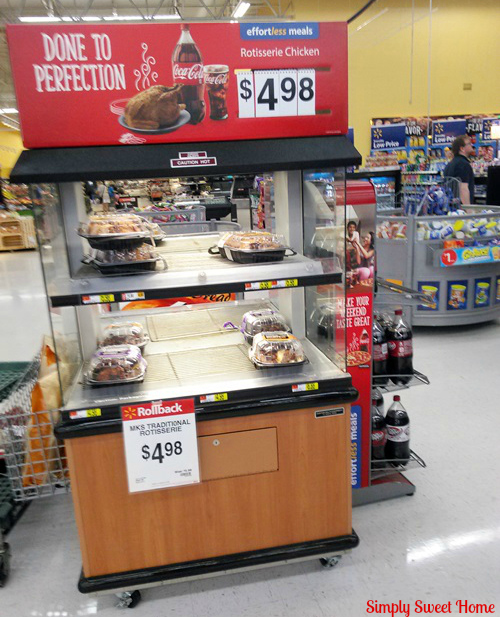 Walmart Deli Kiosk