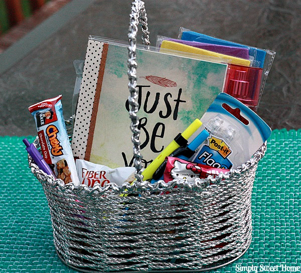 Back to School Gift Basket Sadie Robertson