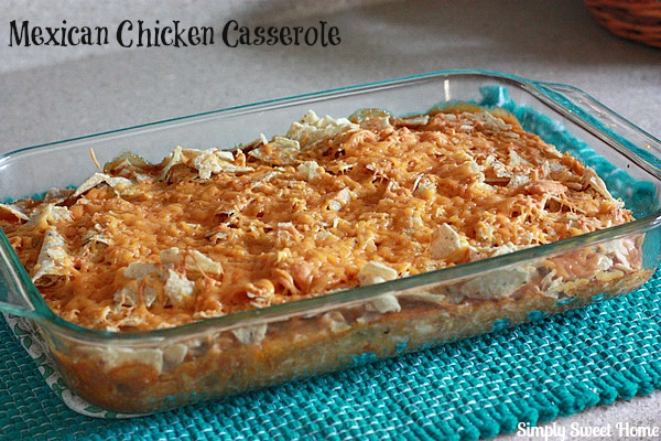 Mexican Chicken Casserole + Savings on Select Campbell's Products