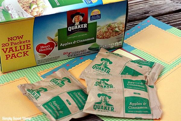 Quaker Oatmeal Packets
