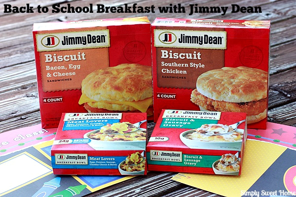 Back to School Breakfast with Jimmy Dean