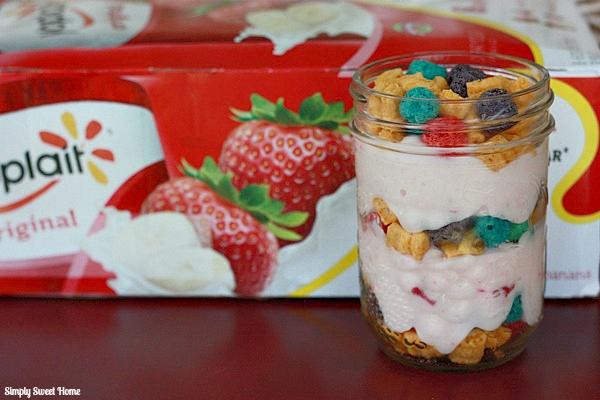 Cereal and Yogurt Parfait