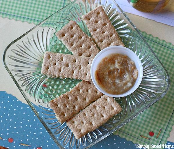 Peanut Butter Apple Sauce Dip
