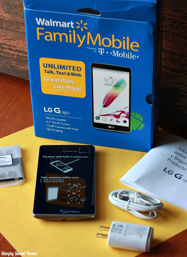 Walmart LG G-Stylo Phone