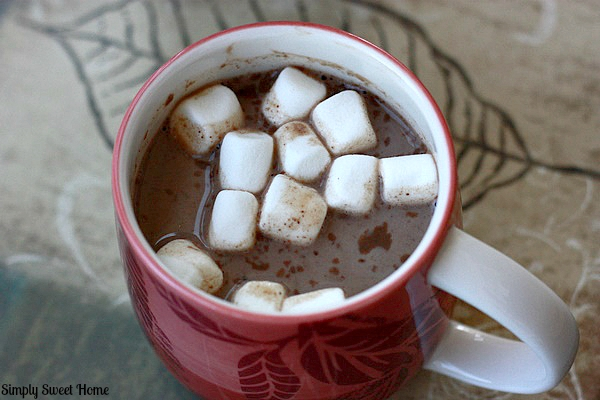 Almond Hot Chocolate 2