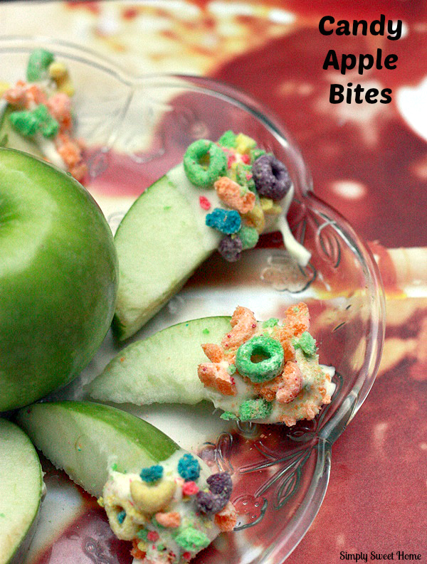 Candy Apple Slices
