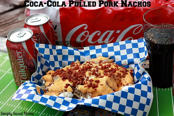 Coca-Cola Pulled Pork Nacho Basket