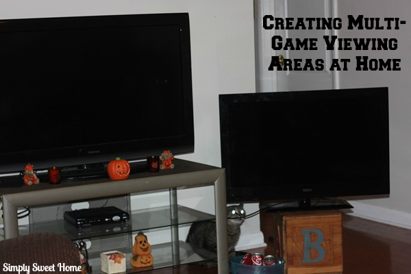 Creating Multi-Game Viewing Areas