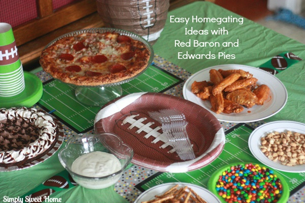 Easy Tailgating Ideas with Red Baron and Edwards Pies