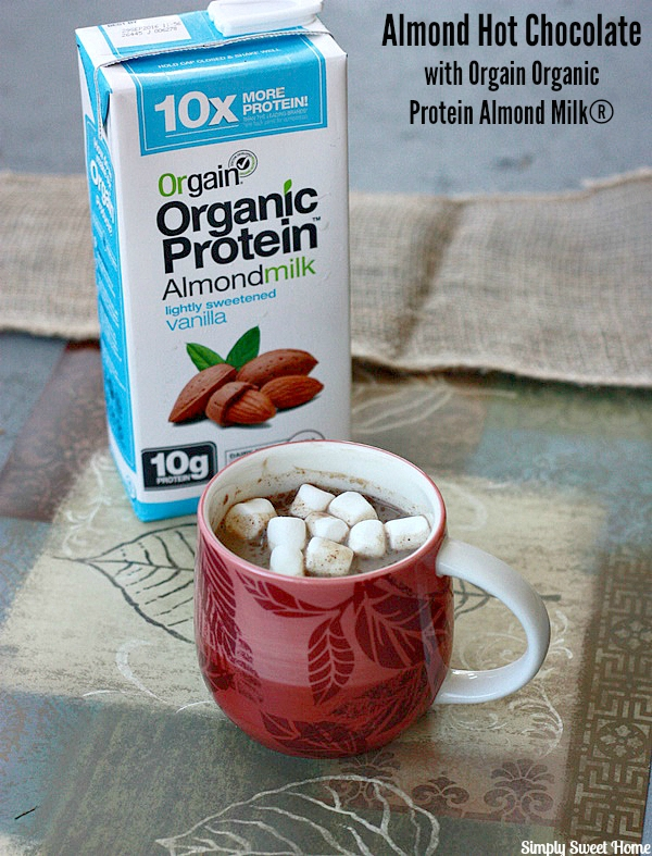 Hot Chocolate with Almond Milk