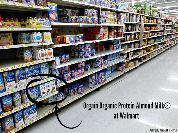 Orgain Organic Protein Almond Milk at Walmart