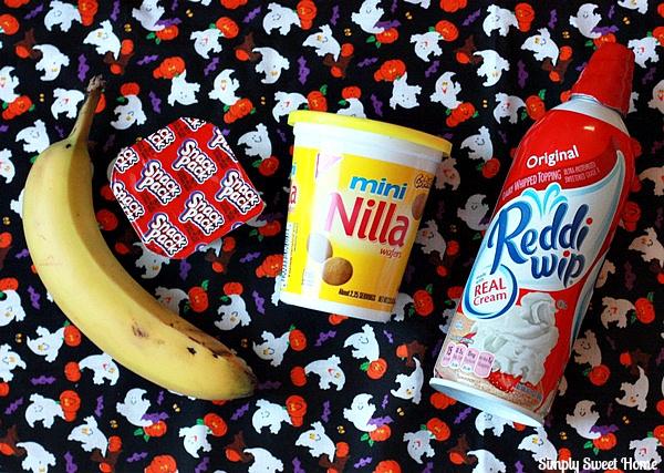 Quick Banana Pudding Ingredients