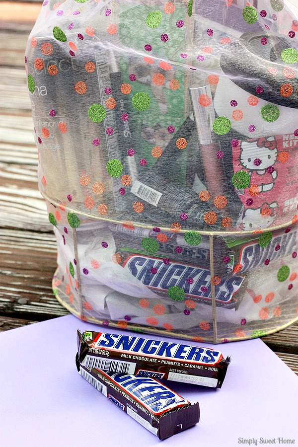 Snickers Gift Basket