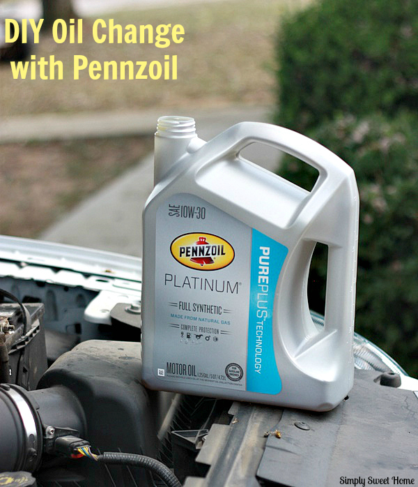 DIY Oil Change with Pennzoil
