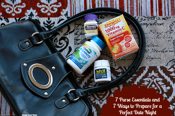 7 Purse Essentials and 7 Ways to Prepare for Date Night
