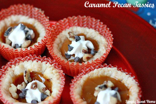 Caramel Pecan Mini Pies
