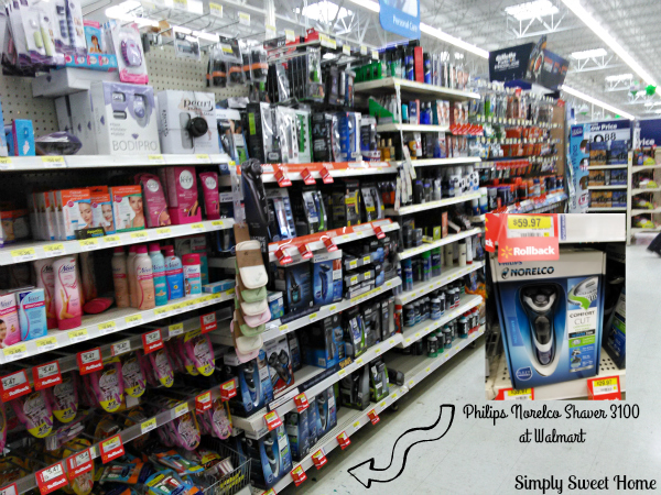 Philips Norelco at Walmart