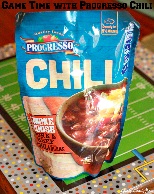 Game time with progresso Chili