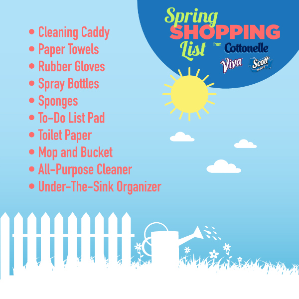 K-C Spring Cleaning Shopping List