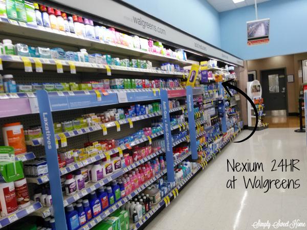 Nexium at Walgreens