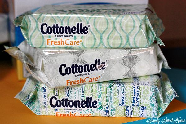 Cottonelle Freshcare Wipes