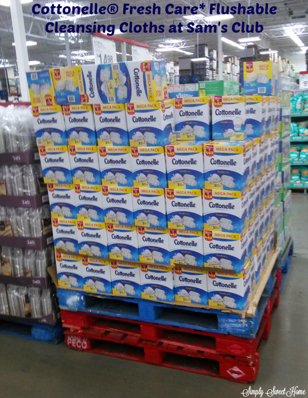 Cottonelle at Sams Club