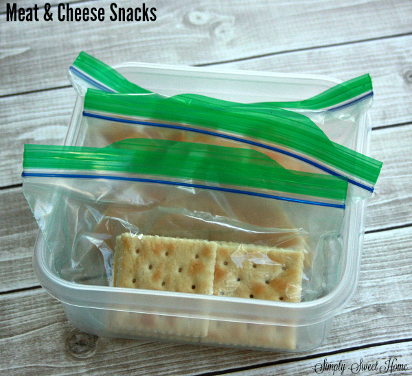 Meat and Cheese Snacks