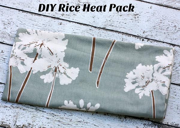 DIY Rice Heat Pack
