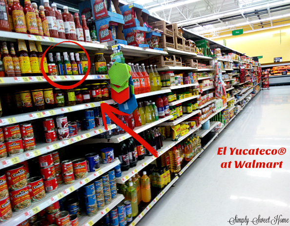 El Yucateco at Walmart
