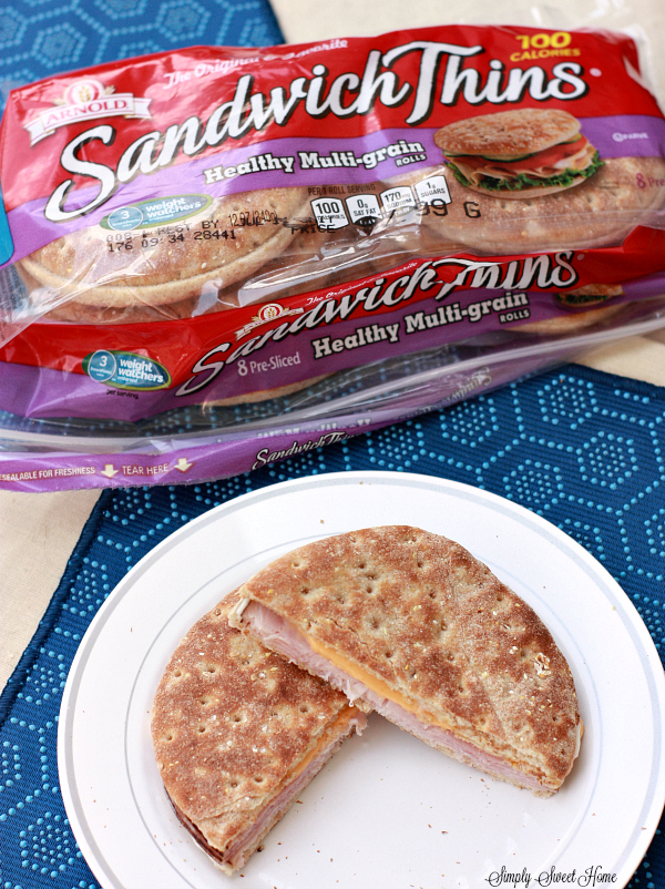 Multi-Grain Ham Sandwich