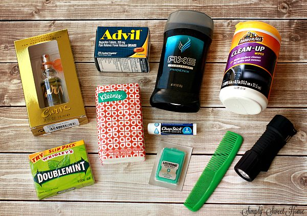Glove Box Essentials