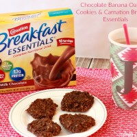 Chocolate Banana Oatmeal Cookies & Carnation Breakfast Essentials